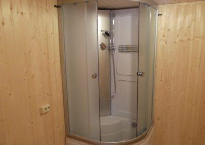 Дополнительное оборудование в бане из лафета