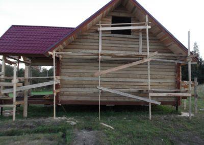 Дом из лафета