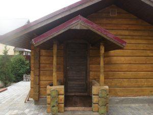 Баня из лафета №2