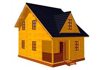 Проект дома из лафета №52