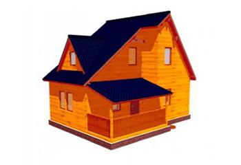 Проект дома из лафета №53