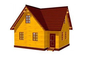 Проект дома из лафета №55